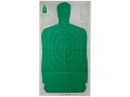 "Champion LE Green Silhouette Targets B-27FSA 24"" x 45"" Paper Package of 10"