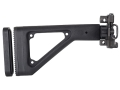 Choate Adjustable Side Folding Stock HK MP5K Steel and Synthetic Black