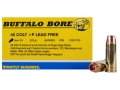 Buffalo Bore Ammunition 45 Colt (Long Colt) +P 225 Grain Barnes XPB Solid Copper Hollow Point Lead-Free Box 20