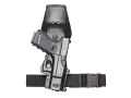 Product detail of Fobus Roto Tactical Thigh Rig for 2-1/4&quot; Belt Polymer Black