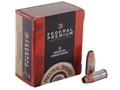 Product detail of Federal Premium Personal Defense Ammunition 9mm Luger 124 Grain Hydra-Shok Jacketed Hollow Point Box of 20