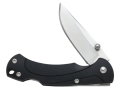 Case Tec X TK-1 Folding Knife 3.125&quot; 440 Stainless Steel Drop Point Blade ABS Polymer Handle Black