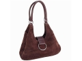 Galco Wisteria Holster Handbag Small, Medium Frame Automatic Suede Brown