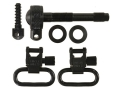 "Product detail of Uncle Mike's Quick Detachable Sling Swivel Set Remington 742 Standard, ADL 1"" Black"