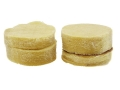 "Thompson Center Round Ball Patches 45-50 Caliber Cotton Pre-Lubricated .015"" Thickness Pack of 100"