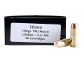 Product detail of Doubletap Ammunition 10mm Auto 180 Grain Match Full Metal Jacket