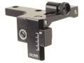 Product detail of Williams FP-H&R Receiver Peep Sight White Systems H&R Buffalo Classic and Handi Rifles Aluminum Black
