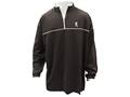Browning Men's Highline Shooting Shirt 1/4 Zip Long Sleeve Polyester