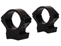 Talley Lightweight 2-Piece Scope Mounts with Integral 1&quot; Rings Browning X-Bolt Gloss Low