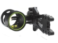 "HHA Brushfire FX-3519 3-Pin Bow Sight .019"" Pin Diameter Right Hand Aluminum Black"