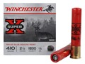 Winchester Super-X Ammunition 410 Bore 2-1/2&quot; 1/5 oz Foster-Type Slug Box of 15