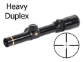Leupold VX-3 Rifle Scope 1.5-5x 20mm Heavy Duplex Reticle Gloss
