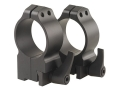 Warne 30mm Quick-Detachable Ring Mounts Ruger 77 Matte High