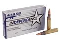 Independence Ammunition 5.56x45mm NATO 55 Grain M193 Full Metal Jacket Boat Tail Box of 20
