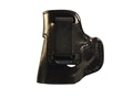 DeSantis Inside Heat Inside the Waistband Holster Left Hand Smith and Wesson M&P Shield 9/40 Leather Black