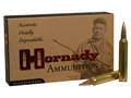 Hornady Custom Ammunition 300 Remington Ultra Magnum 180 Grain GMX Boat Tail Lead-Free Box of 20