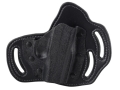 DeSantis Intimidator Outside the Waistband Holster Right Hand Ruger LCP Kydex and Leather Black
