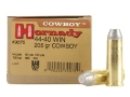 Hornady Frontier Ammunition 44-40 WCF 205 Grain Lead Flat Nose Box of 20