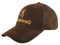 Product detail of Browning Cap Brown with Browning Logo