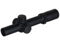 Weaver Tactical Rifle Scope 30mm Tube 1-5x 24mm First Focal Illuminated Close-Intermediate Range Reticle Matte