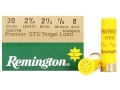 Remington Premier STS Target Ammunition 20 Gauge 2-3/4&quot; 7/8 oz #8 Shot