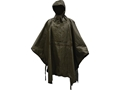 Military Surplus German Poncho Grade 2 Waterproof Olive Drab