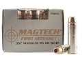 Product detail of Magtech First Defense Ammunition 357 Magnum 95 Grain Solid Copper Hollow Point Lead-Free Box of 20