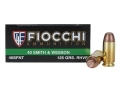 Fiocchi Frangible Ammunition 40 S&W 125 Grain Sinterfire Flat Point Lead-Free Box of 50