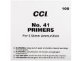 CCI Small Rifle Military Primers #41 Box of 1000 (10 Trays of 100)