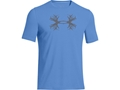 Under Armour Men's UA Antler T-Shirt Short Sleeve Cotton and Polyester Blend Ceylon Large 42-44