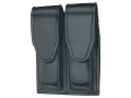 Product detail of Gould & Goodrich B629 Double Magazine Pouch 1911 Government, Commander, Officer, Beretta 92 Compact Leather Black