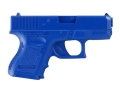BlueGuns Firearm Simulator Glock 26, 27, 33 Polyurethane Blue
