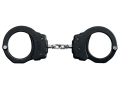 ASP Model 150 Chain Handcuffs 7075 T6 Aluminum with Polymer Over-molded Frame Black