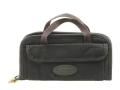 "Boyt Double Pistol Case 13"" x 7"" Canvas Black"