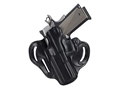 DeSantis Speed Scabbard Belt Holster Left Hand Taurus Judge 3&quot; Barrel Leather Black