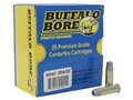 Buffalo Bore Ammunition 38 Special +P 158 Grain Lead Semi-Wadcutter Hollow Point Gas Check Box of 20