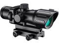 Barska AR-X Red/Green Dot Sight 4x 30mm Illuminated Mil-Dot IR Reticle Matte