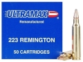 Product detail of Ultramax Remanufactured Ammunition 223 Remington 55 Grain Soft Point