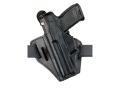 "Safariland 328 Belt Holster Left Hand Ruger Speed Six, S&W K-Frame, Taurus 66, 669, 689, M-80, M-82 4"" Barrel Laminate Black"