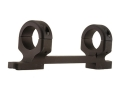 "DNZ Products Game Reaper 1-Piece Scope Base with 1"" Integral Rings Marlin 336, 1895 Matte Medium"