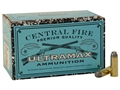Ultramax Remanufactured Ammunition 45 Colt (Long Colt) 200 Grain Round Nose Flat Point Box of 100