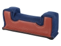 Edgewood Front Shooting Rest Bag Common Varmint Width Leather and Nylon Navy Blue Unfilled