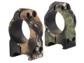 "Nikon 1"" Weaver-Style Rings Medium Mossy Oak Break-Up Camo"