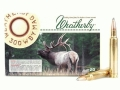 Weatherby Ammunition 300 Weatherby Magnum 165 Grain Hornady Spire Point Box of 20