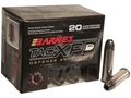 Barnes TAC-XPD Ammunition 357 Magnum 125 Grain TAC-XP Hollow Point Lead-Free Box of 20