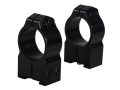 "Warne 1"" Permanent-Attachable Ring Mounts Tikka Gloss High"