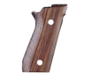 Hogue Fancy Hardwood Grips Taurus PT99 with Frame Mounted Safety Rosewood