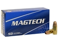 Product detail of Magtech Sport Ammunition 9mm Luger 115 Grain Jacketed Hollow Point Box of 50
