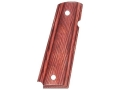 Hogue Grips 1911 Government, Commander Rosewood Laminate