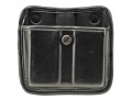 Bianchi 7922 AccuMold Elite Triple Threat 2 Magazine Pouch 1911, Ruger P90, S&amp;W 909, 3913, Sig Sauer P220, P225, P239 Trilaminate High-Gloss Black